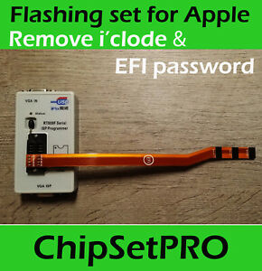 Debug RT809F SPI FLASH EFI ROM Apple MacBook J6100 Air Pro 2017 Service tool PRO