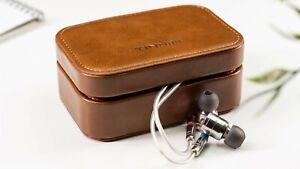 Tin HiFi IEM Case Earphone Case Bag PU Leather Case Premium in ear moonito