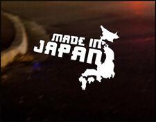 Hecho en Japón Jdm japonés coche decal sticker Lexus Mazda Mitsubishi Nissan