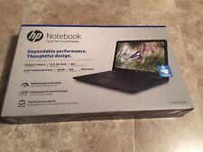 "Brand New HP 15.6"" Touchscreen Laptop Intel Quad-Core 4GB RAM 500GB HHD Win10"