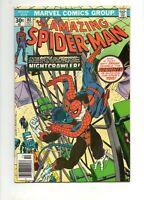 Amazing Spider-Man #161 WOLVERINE NIGHTCRAWLER 1 ST CROSSOVER 1976 HIGH GRADE VF