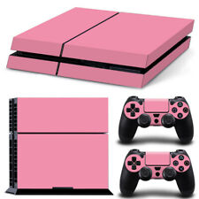 Bubblegum Pink PS4 Skin for PlayStation 4 Console and Controllers