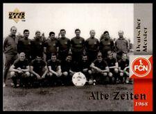 Upper Deck 1.FC Nurnberg 1997 Deutscher Meister. Team 1968 Alte Zeiten No. 30