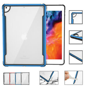 Shockproof Armor ProtectiveTransparent Case cover For iPad 10.2 Air 4 10.9 2020