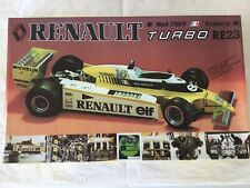 PROTAR RENAULT TURBO RE 23 Mod. 170/P René Arnoux 1/12
