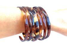 Pulseras 7 esclavas original Habana abiertas Impecables  bracelet tortuga marron