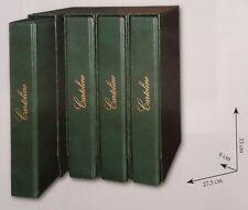 ALBUM CON CUSTODIA PER CARTOLINE ANTICHE VERTICALI  A 4 anelli 30mm Art. 213