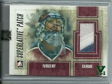 ITG Superlative Vault Patrick Roy 2 Color Jersey Patch Card 1 of 1