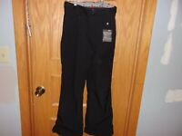 Women's snow pant's. Gerry. Size XS. Black/Solid. Polyester