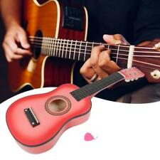 Wood Acoustic Guitar Pick Strings for Children Kids Beginner Practice Gifts