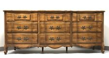 THOMASVILLE Tableau Oak French Country Style Triple Dresser
