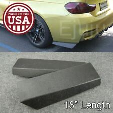 "18"" Rear Bumper Lip Apron Splitter Diffuser Valence Bottom Line For Honda Acura"