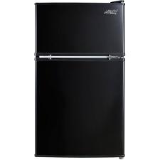 3.2 Cu Ft Fridge Mini Refrigerator Freezer Cooler 2 Door Compact Home Office New