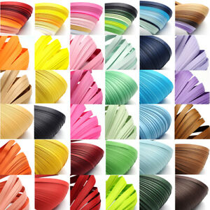 1 Bag 530x10mm Quilling Paper Strips about 120strips/bag For DIY Paper Crafts