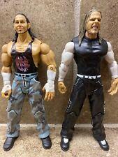 🔥LOT OF 2 Jakks Pacific Hardy Boys Matt & Jeff Hardy WWE Tag Team BEST DEAL!🔥