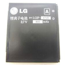 ORIGINALE LG ax830 ke970 kf350 kf600 kf750 kg70 LGIP - 470r 800mah BATTERIA BATTERY