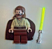 Lego Star Wars Minifigure ~ Qui-Gon Jinn Breathing Mask 9499