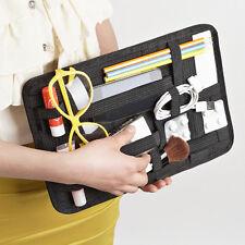 Elastic Gadgets Organizer Rubber Bands Storage Board Travel Bag Tidy Organizer