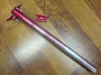 KCNC TI-PRO LITE -8000 SCANDIUM  27.2 x 330 X 0 ZERO SET BACK SEAT POST-RED ANO