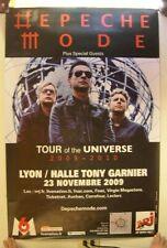 Depeche Mode Tour Of The Universe 2009-2010 German Tour Poster Concert Gig