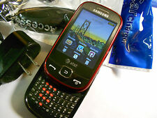 GOOD! Samsung FLIGHT SGH-a797 Red Camera QWERTY GSM Touch Slider AT&T Cell Phone