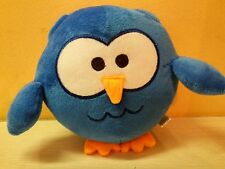 "Carnival Cruise Lines Camp Carnival Night Owls Plush Blue Owl 8"" stuffed animal"