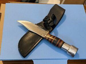 Vintage 1931 1932 Case Bradford PA Sheath / Hunting Knife Modified w/Sheath