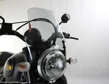 Ducati Scrambler 15 16 Light Screen Shield Windshield Grey Powerbronze PB