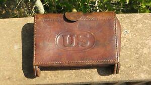 Spanish Am War US Army Leather McKeever Cartridge Box RIA 1904 .30-40 Krag