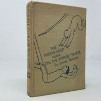Middle Aged Man on the Flying Trapeze by James Thurber (1st First Edition 1935)
