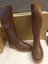 Le Chameau Saint Hubert Leather Lined Wellington Boots Size 50 UK 14 CLEARANCE