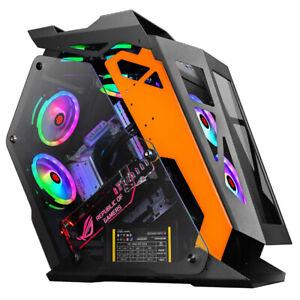 电脑主机箱高端电竞网吧机箱小咖中咖大咖灯板Computer mainframe box high end E-sports Internet cafe case