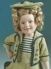 """Shirley Temple """"Wee Willie Winkie"""" porcelain doll by Danbury Mint 10"""""""