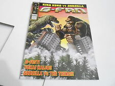 #64 G-FAN  GODZILLA  magazine vs KING KONG