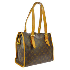 LOUIS VUITTON POPINCOURT HAUT SHOULDER BAG PURSE MONOGRAM M40007 SR1015 A50772