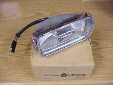 1969 Plymouth Barracuda Cuda NOS MoPar LH PARK LAMP M-CODE Pair