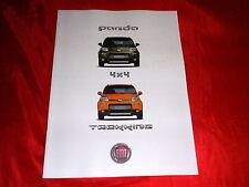 Fiat Panda 4x4 + trekking folleto de 2012