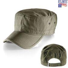 ATLANTIS Cappello ARMY cappellino OLIVA caps MILITARE Vasco Rossi BASEBALL #