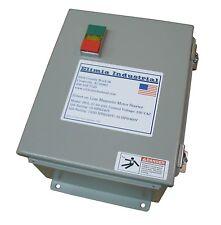 Elimia DOL Magnetic Motor Starter 30 HP 120V 37-50A Hinged Steel Enclosure (65)