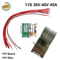 11S 36V-40V 45A BMS PCB PCM Li-ion Lithium Battery Protection Board For Ebike UK