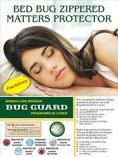 Fermeture à glissière acariens Proof Anti-Allergie Housse de Matelas Protecteur ...