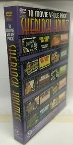 10 Movie Sherlock Holmes DVD Box Set - AusPost with Tracking