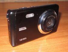 Audiosonic 12MP Digital Camera - Black - edc