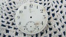 ancien cadran emaillé montre gousset chronometre 3.7cm