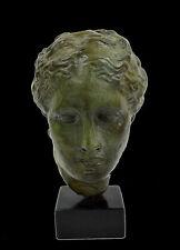 Bronze sculpture Hygeia Ancient Greek Goddess of health artifact