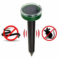 Universal Garden Yard Ultrasonic Solar Powered Snake Mouse Pest Repeller