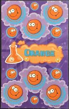 Dr. Stinky's Scratch & Sniff Stickers - Orange - Mint Condition!!