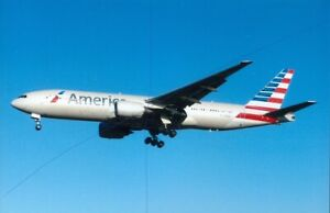 AMERICAN AIRLINE PLANE PHOTO BOEING 777 CIVIL AIRCRAFT PHOTOGRAPH PICTURE N768AA