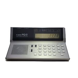 Canon RQ-2 Radio Quartz Calculator Open Box New Cond. Tested & In Working Order.