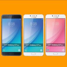 "Samsung Galaxy C7 Pro SM-C7010 4/64GB 16MP NFC 5.7"" Dual SIM Android Smartphone"